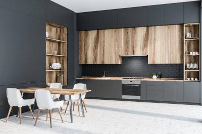 Aqua Space Kitchen